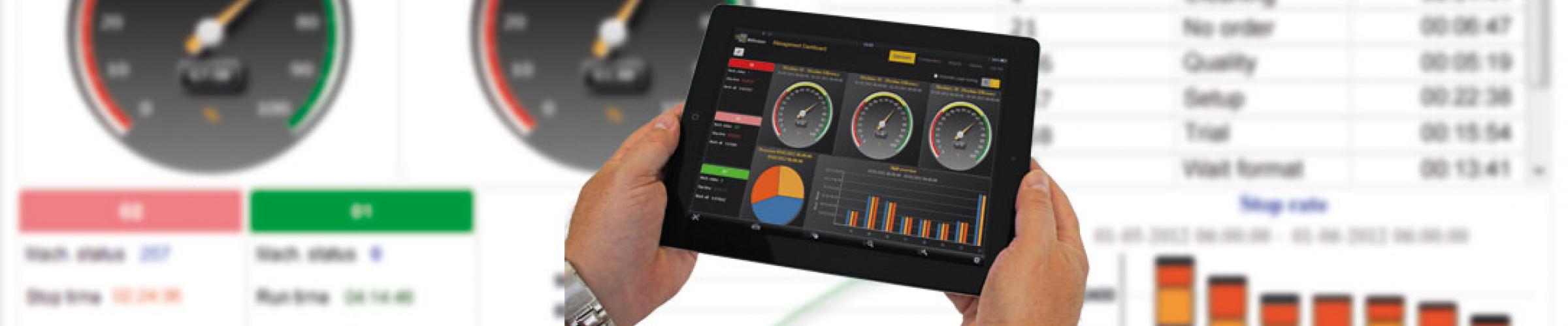 Production Monitoring on Mobile Devices